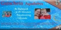 Gutschein für einen 8 Wochen Aquababy Kurs inkl. Fotoshooting in Varel
