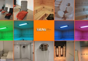 Sauna Collage